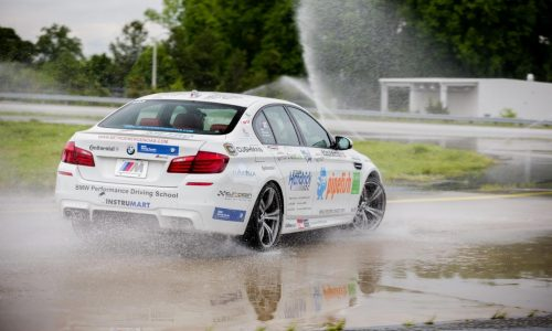BMW M5 drifts 82km to reset world record, for charity