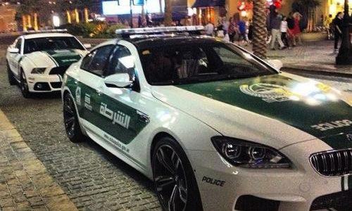 BMW M6 Gran Coupe police car joins Dubai force