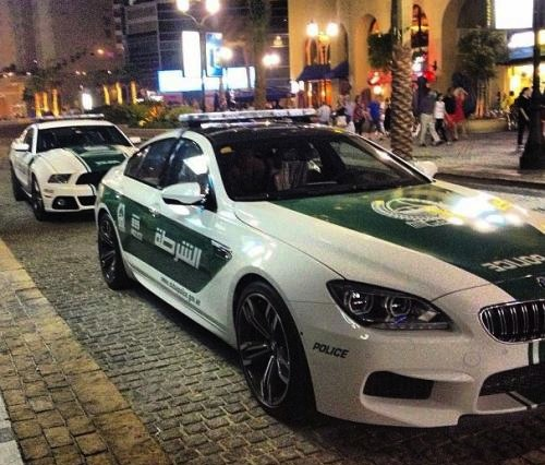 BMW M6 Gran Coupe police car