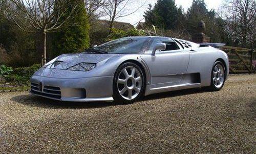 For Sale: 1993 Bugatti EB110 SS driven just 13,000km