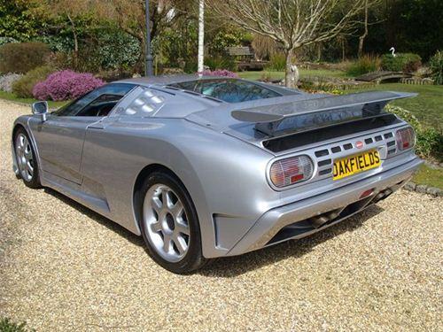 BRABUS Bugatti EB110 SS rear