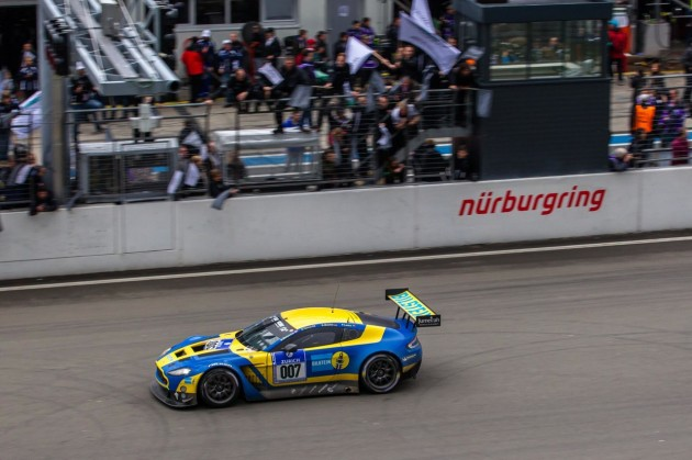 Bilstein Aston Martin V12 Vantage GT3 2013 Nurburgring 24 Hours