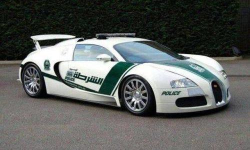Bugatti Veyron police car added to Dubai police force