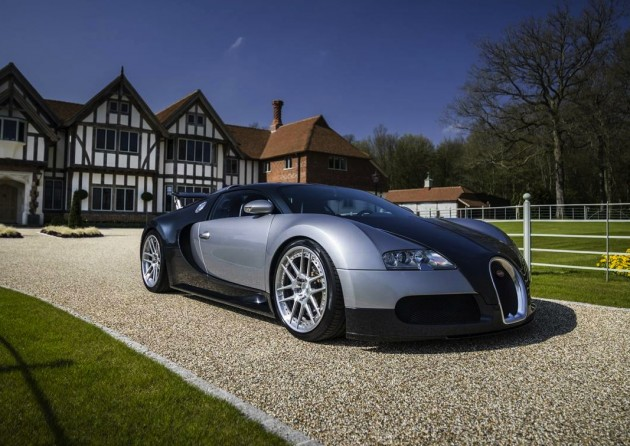Bugatti Veyron with ADV1 wheels