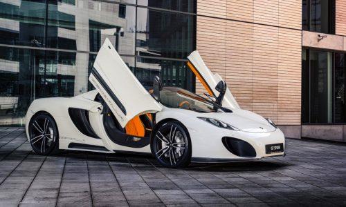 Gemballa McLaren MP4-12C Spider styling kit announced