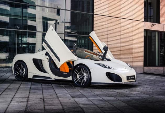 Gemballa McLaren MP4-12C Spider-doors