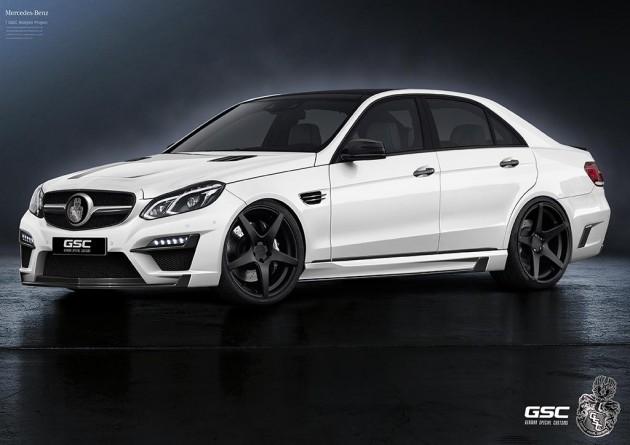 German Special Customs Mercedes-Benz E-Class