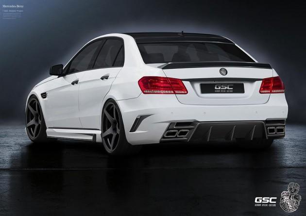 German Special Customs Mercedes-Benz E-Class rear