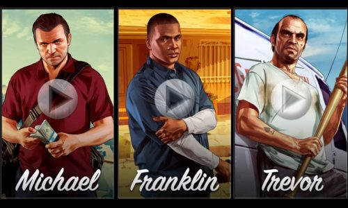 Video: Grand Theft Auto V trailer previews three in-game characters