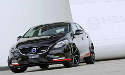 Heico Sportiv Volvo V40 T3 tuning pack, with help from Pirelli