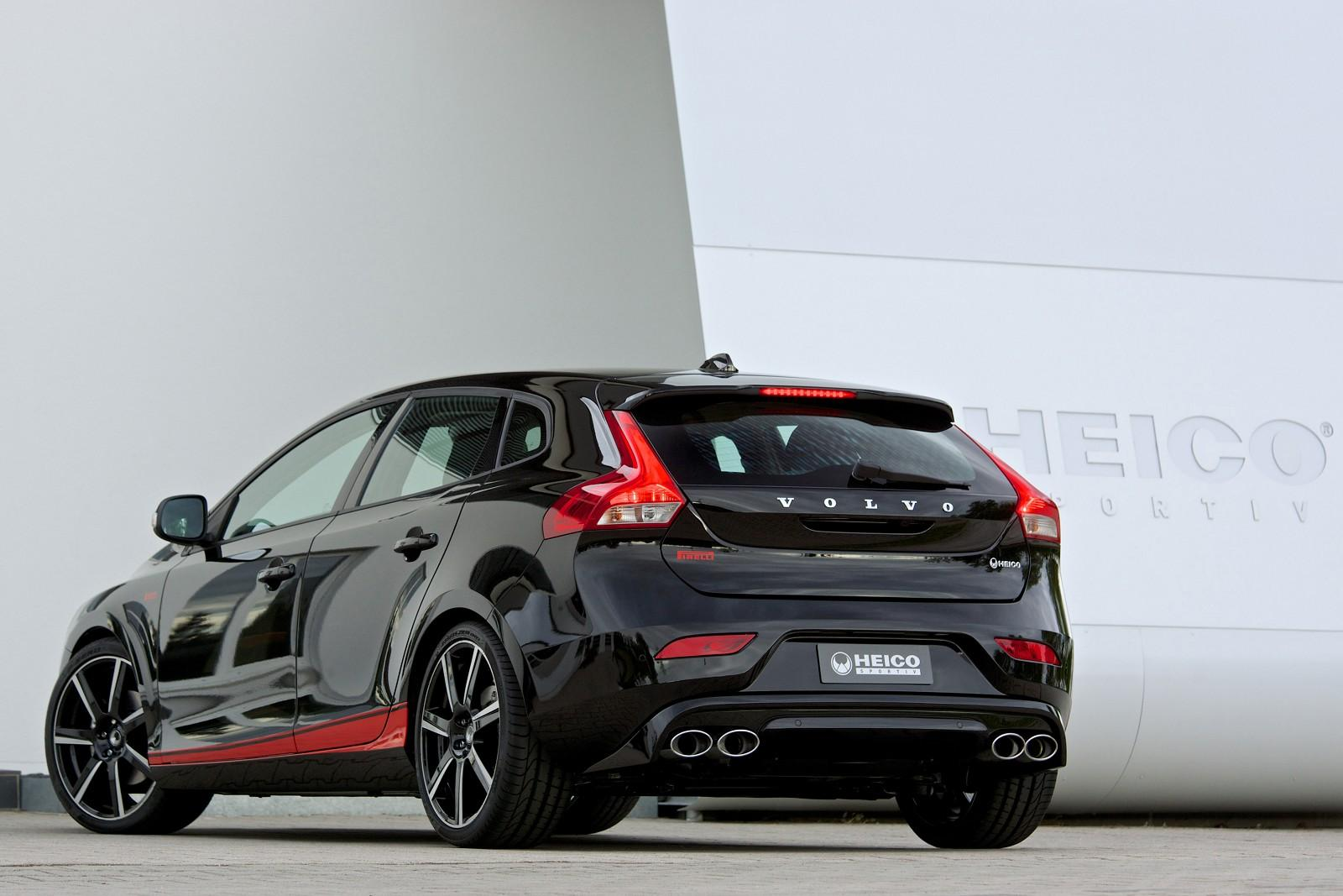 Heico Sportiv Volvo V40 T3 Tuning Pack With Help From