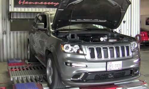 Hennessey 2013 Jeep Grand Cherokee SRT8 HPE650 kit with 485kW (video)