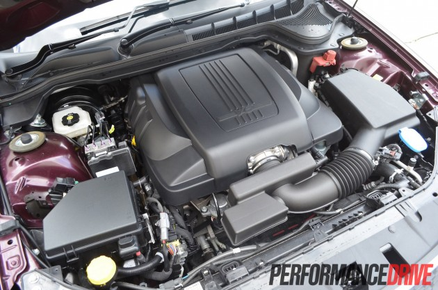 Holden VE Commodore SV6 engine