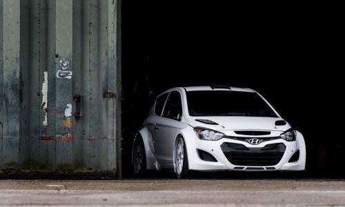 Hyundai i20 WRC car begins testing before 2014 debut
