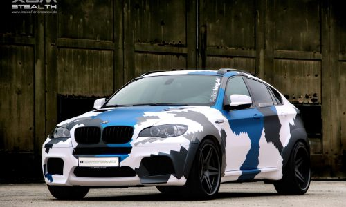 Inside Performance BMW X6 M gets 'Stealth' tuning package