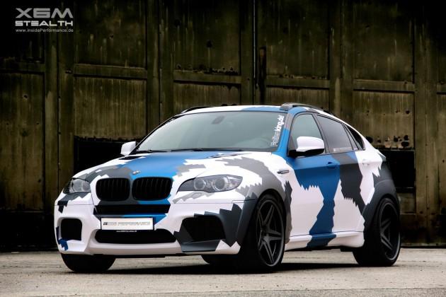 Inside Performance BMW X6 M Stealth