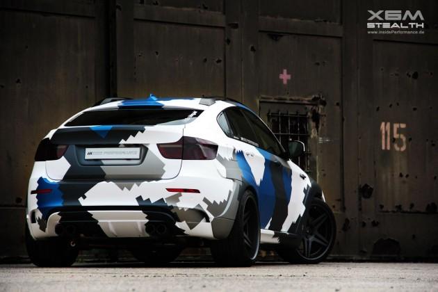 Inside Performance BMW X6 M Stealth rear