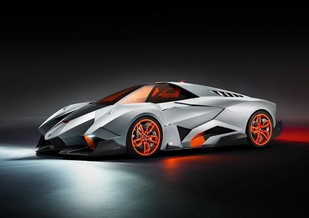 Lamborghini Egoista concept-front