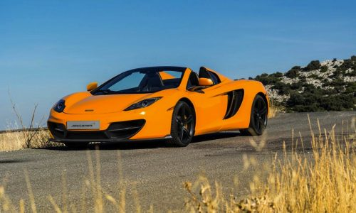 McLaren MP4-12C '50' edition announced, just 100 being made