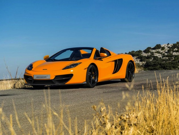 McLaren MP4-12C Spider 50 edition
