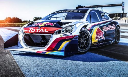 Peugeot 208 T16 Pikes Peaks racer gets Red Bull livery