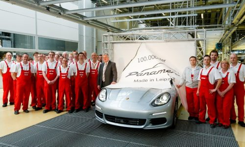 Porsche Panamera hits 100,000 production milestone