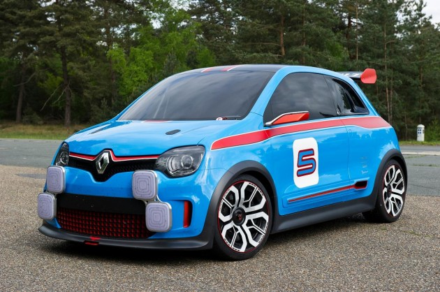 Renault Twin'Run concept-front