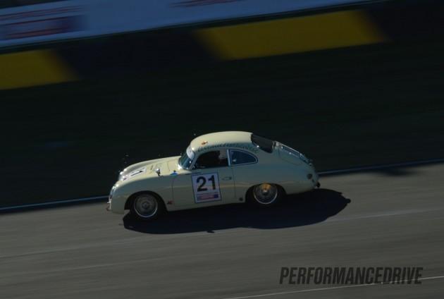 Rennsport Australia-Porsche 356 white