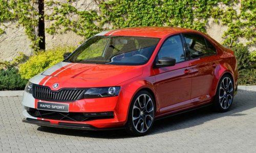 Skoda Rapid Sport concept revealed