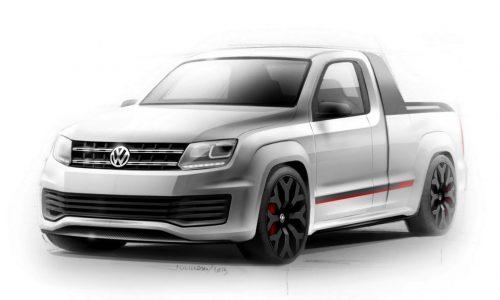 200kW Volkswagen Amarok R-Style concept headed to Worthersee