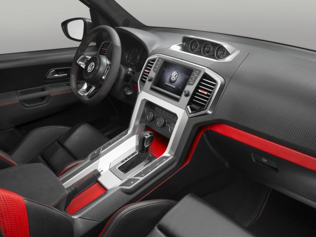 Volkswagen Amarok R-Stype concept interior