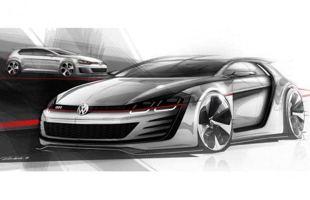 Volkswagen Golf 'Design Vision GTI'