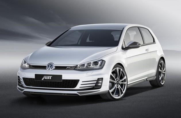 Volkswagen Golf GTD Mk7 ABT Sportsline front