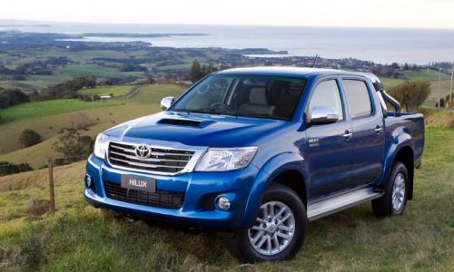 Australian vehicle sales for May 2013 – Toyota HiLux king