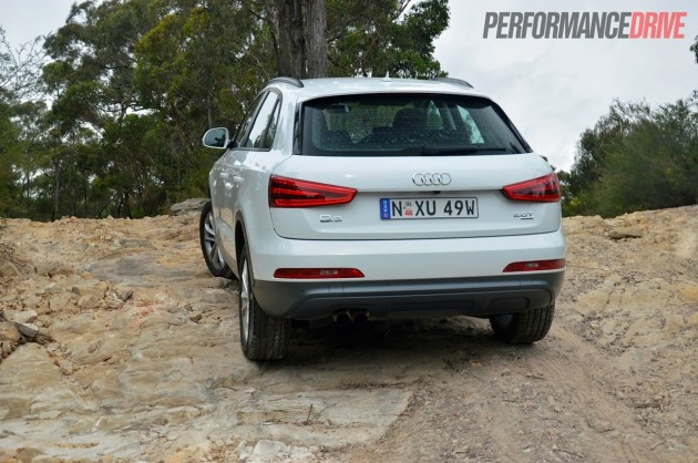 2013 Audi Q3 2.0TFSI quattro-climbing