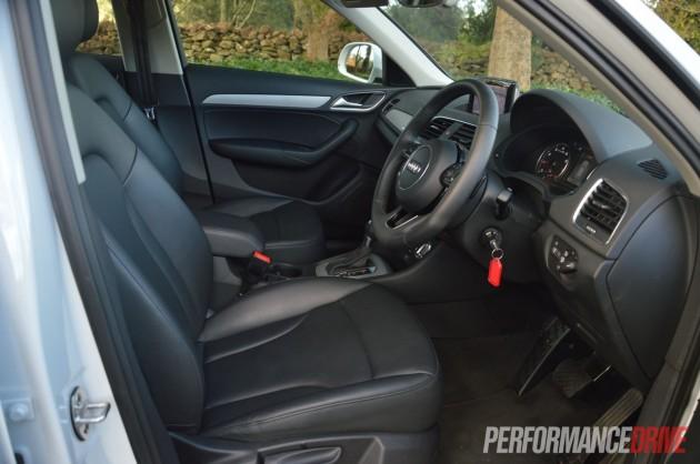 2013 Audi Q3 2.0TFSI quattro interior