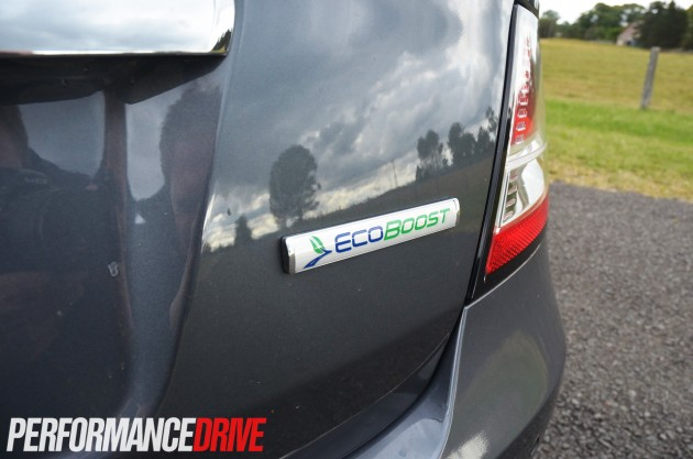 2013 FG Ford Falcon G6E EcoBoost rear badge