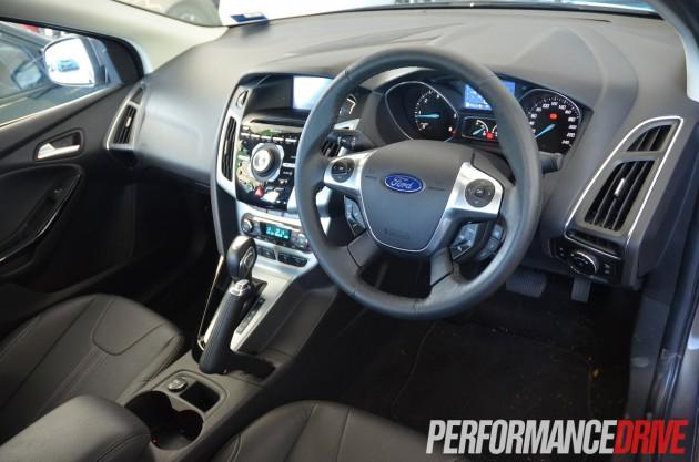 2013 Ford Focus Titanium interior