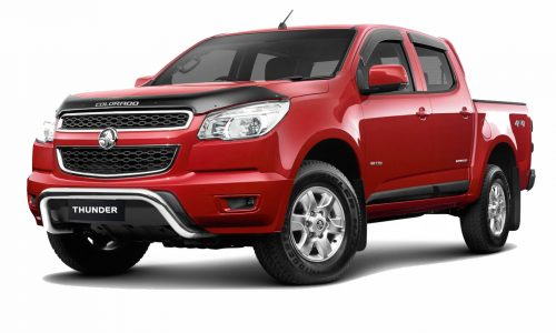 Holden Colorado Thunder special edition brings added value