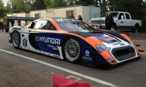 2013 Hyundai PM580T Pikes Peak racer revealed, testing begins