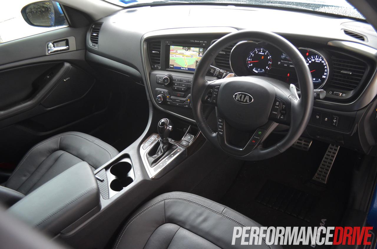 2013 Kia Optima Platinum Interior