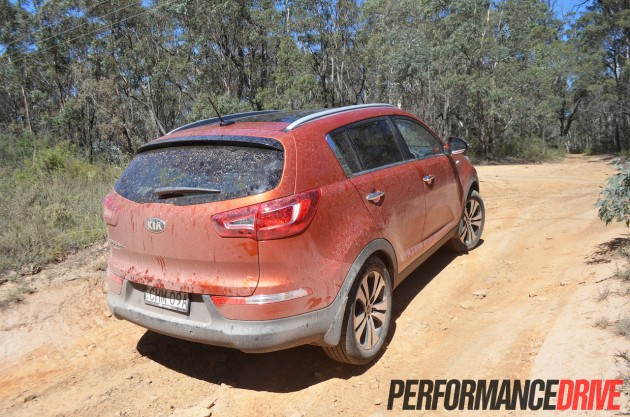 2013 Kia Sportage Platinum off road