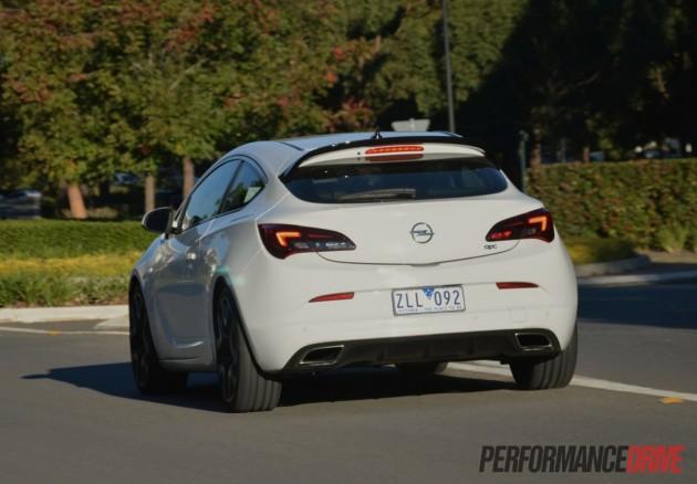 2013 Opel Astra OPC rear