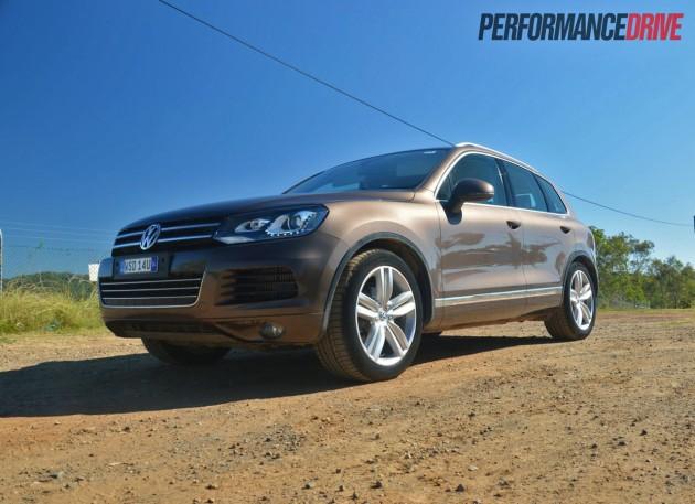 2013 Volkswagen Touareg V6 TDI air suspension lowest-