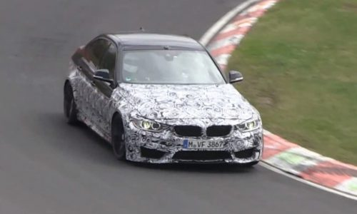 Video: 2014 BMW M3 prototype spotted carving up the Nurburgring