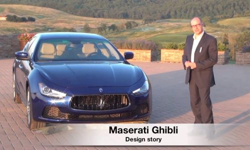 Video: 2014 Maserati Ghibli design story explained