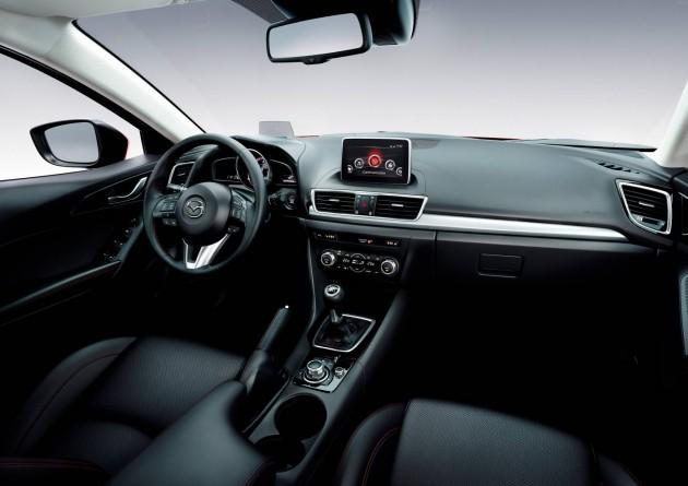 2014 Mazda3 interior
