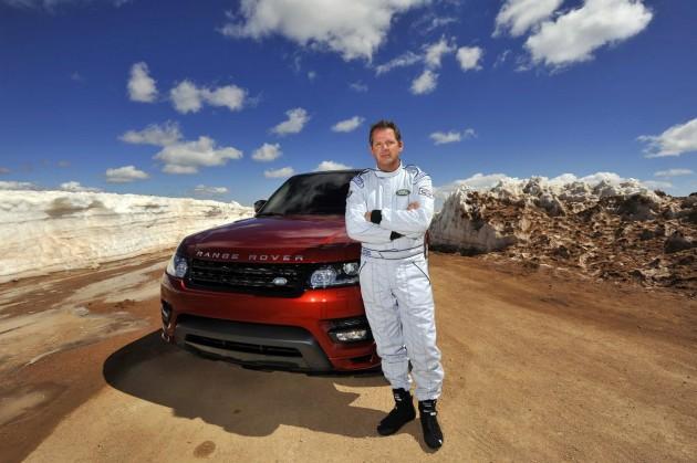 2014 Range Rover Sport at Pikes Peak-Paul Dallenbach