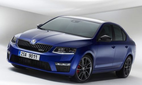 2014 Skoda Octavia RS unveiled before Goodwood debut