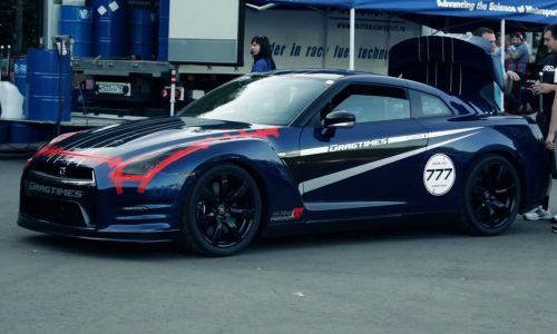 Video: 1267kW AMS Nissan GT-R breaks one-mile speed record